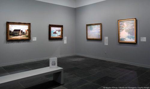 exposição Tokyo Paris no Museu Orangerie