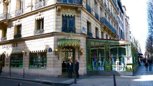 restaurantes na avenida Champs Élysées