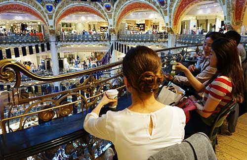 Galeries Lafayette Coupole