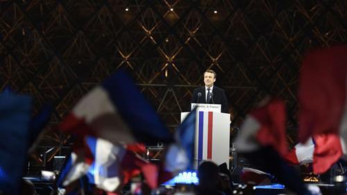 vitória de Macron