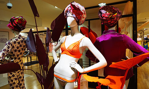 Espaço sedução das Galeries Lafayette