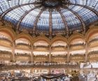 O verão nas Galeries Lafayette, em Paris