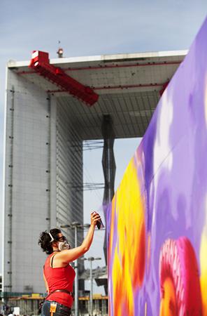 Festival Street Art em La Defense