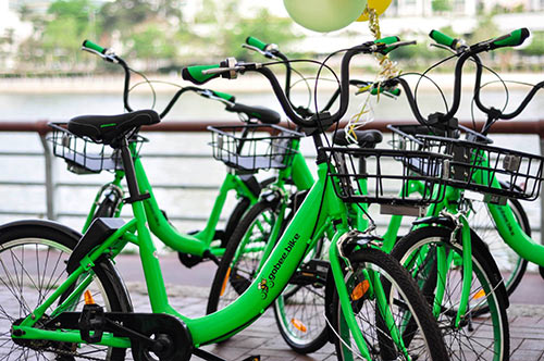Bicicletas em free floating