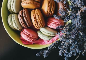 macaron doces franceses