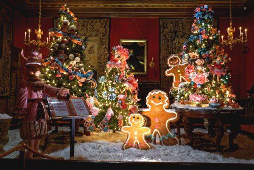 visita de Natal a Vaux le Vicomte