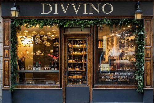 loja de vinhos divvino