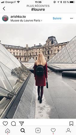 Lugares e museus mais instagramados do mundo
