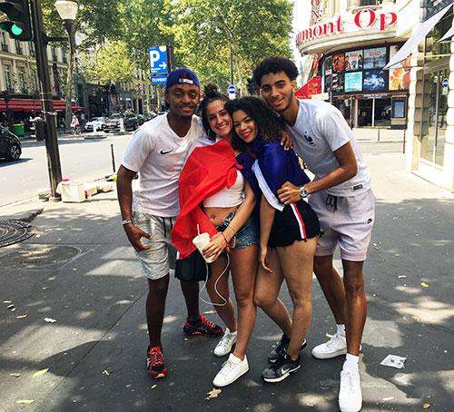 A França e sua equipe de futebol multicultural