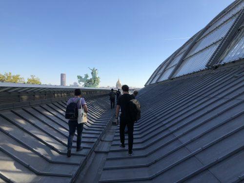 telhado do grand palais