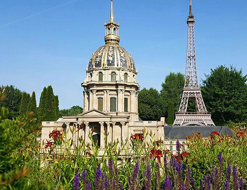 Paris com crianças Parque de Miniaturas