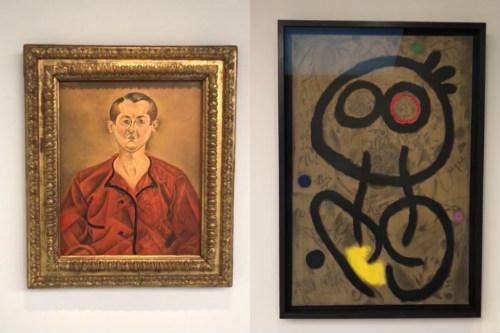 Exposição Miró em Paris