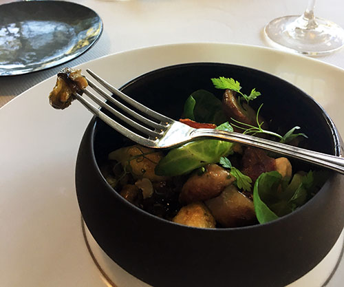 Os restaurantes de Baumanière