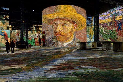 exposição imersiva Van Gogh