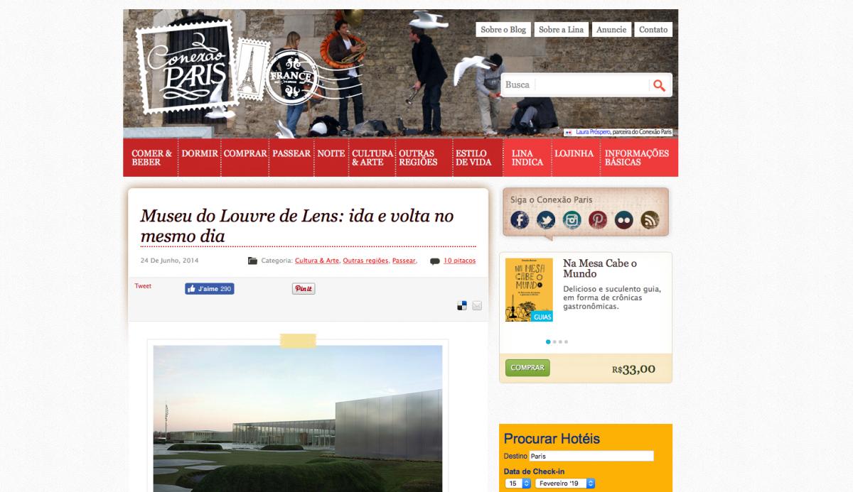 conexao paris novo blog nova marca