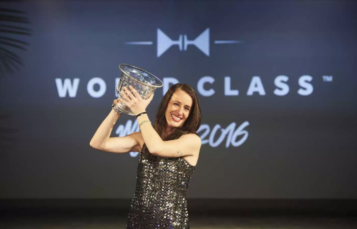 Vencedora do prêmio World Class Bartender of the Year. Foto: DR