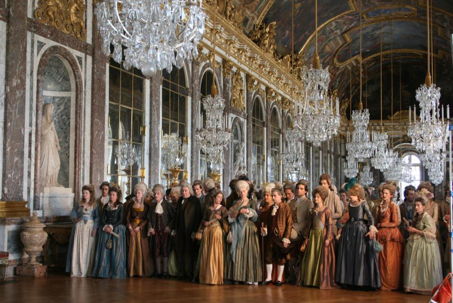 filmes que se passam no castelo de versailles