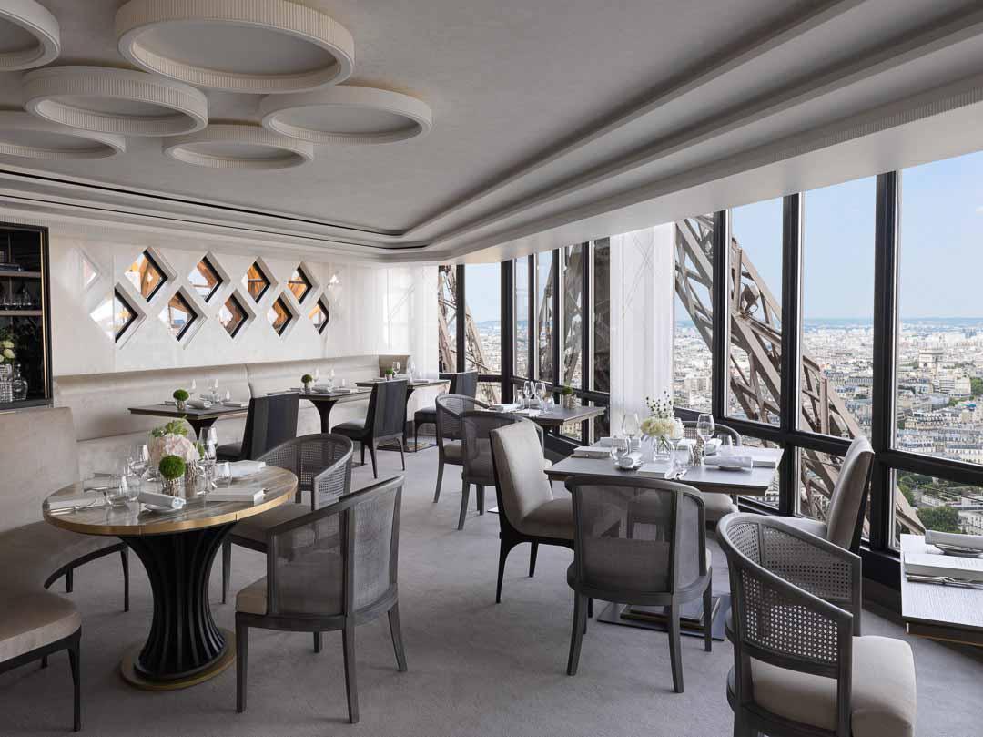restaurante torre eiffel jules verne