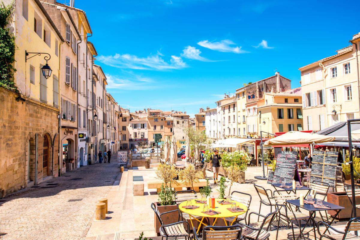 A linda Aix en Provence é uma ótima base para quem quer conhecer a Provence, no sul do França.