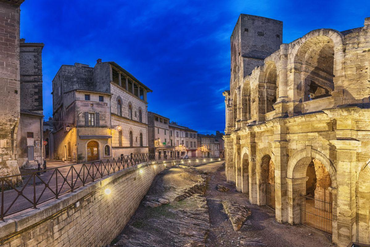 As ruínas romanas de Arles, na Provence, são classificadas pela Unesco como patrimônio da humanidade.