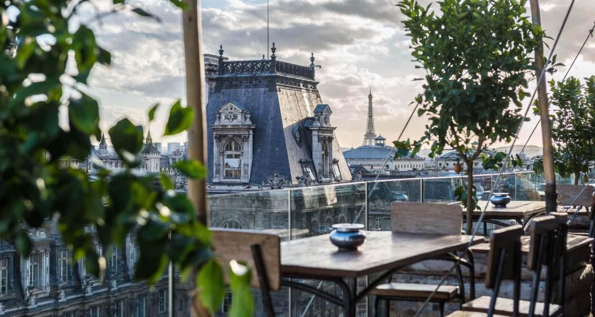 paris no verao rooftop bar perchoir marai