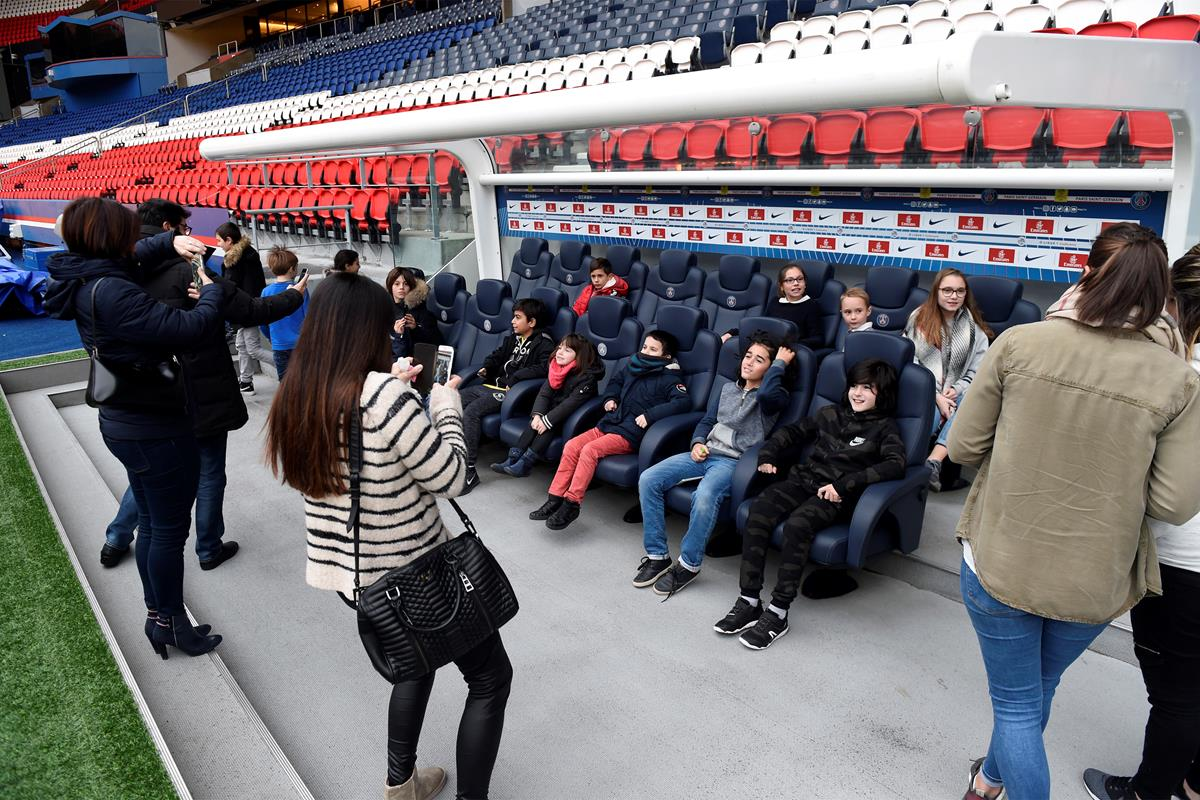 Visita ao estádio do PSG