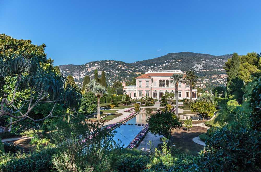 O que visitar na Côte d'Azur: a Villa Ephrussi de Rothschild em Cap Ferrat.