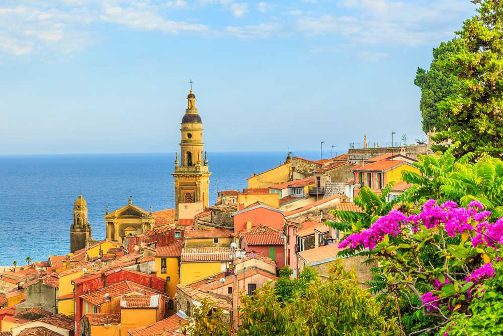 O que visitar na Côte d'Azur: Menton, a cidade cor de ocre, última para antes da fronteira da França com a Itália.