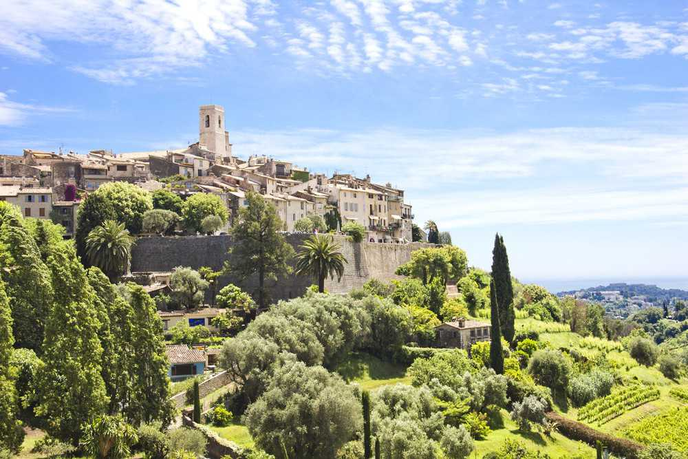 O que visitar na Côte d'Azur: o vilarejo medieval de Saint-Paul de Vence.