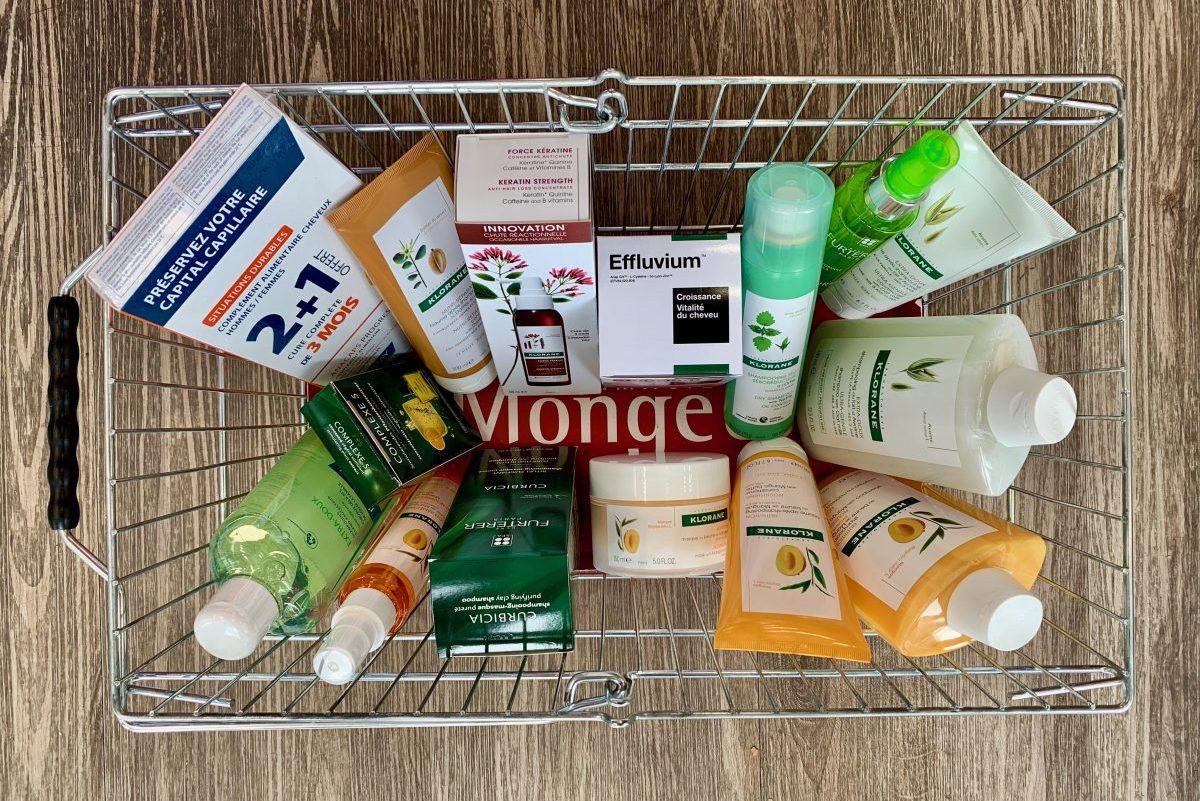 produtos franceses para cabelo