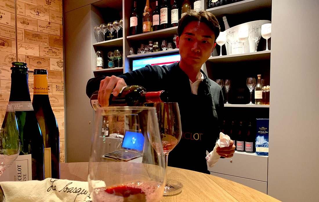 Degustação de vinhos em Paris