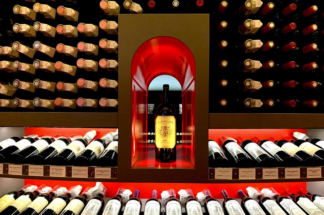 Onde comprar vinhos em Paris
