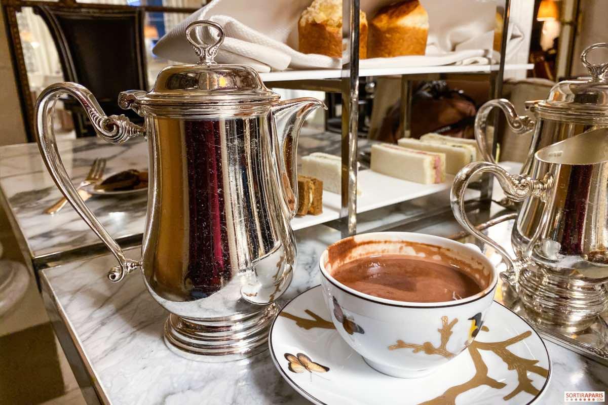 paris no inverno chocolate quente