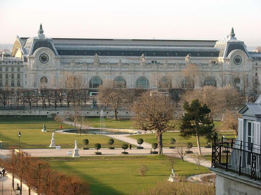 inverno em paris jardim tuileries