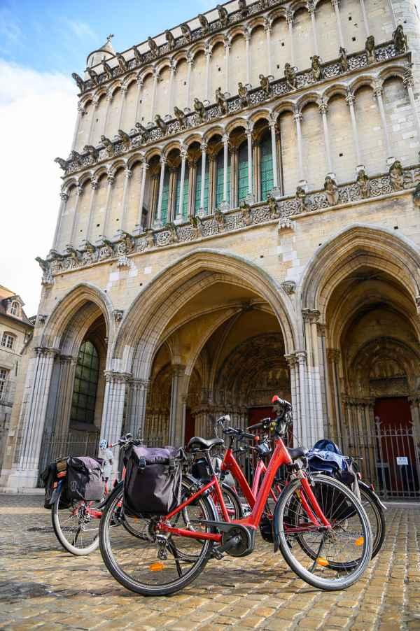 Rota dos Grands Crus: o lindo centro histórico de Dijon pode ser visitado rapidamente.