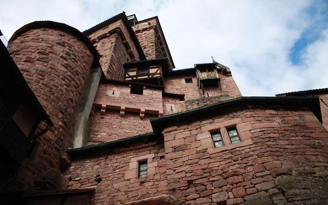 Castelo Haut-Koenigsbourg na Alsácia