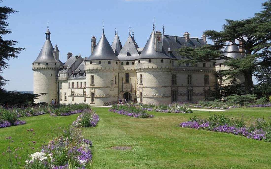 Castelo Amboise no Vale do Loire França