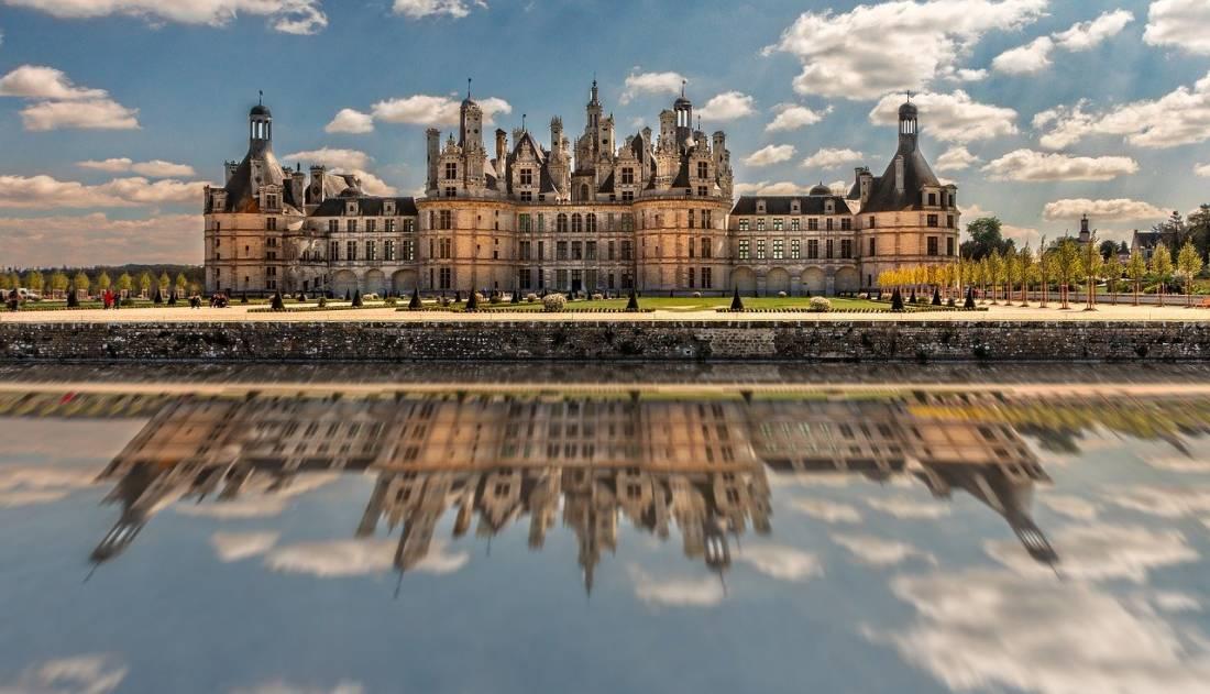Castelo Chambord no Vale do Loire França