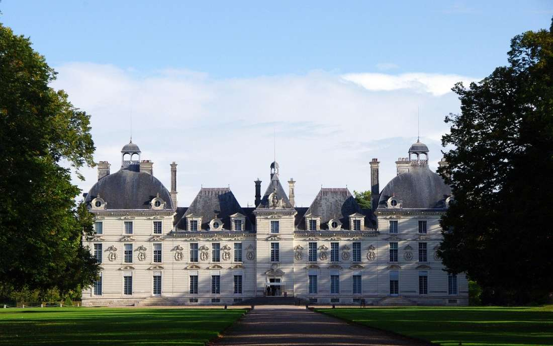 Castelo Cheverny no Vale do Loire França