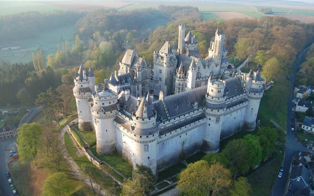 Castelo de Pierrefonds na França