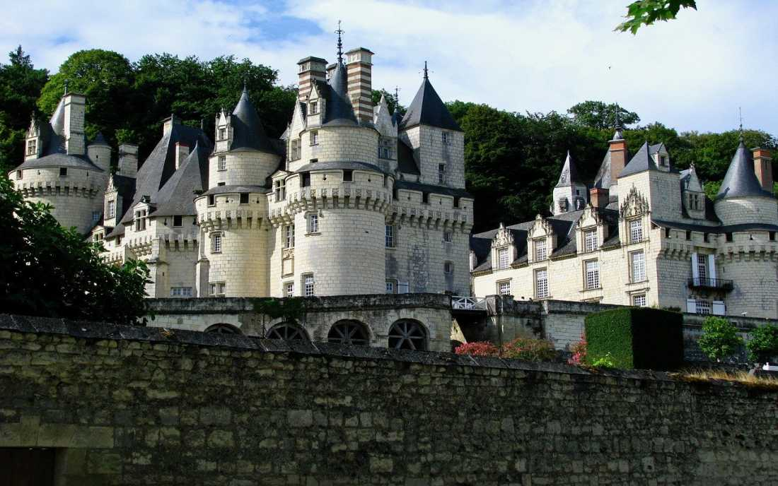 Castelo Ussé da Bela Adormecida