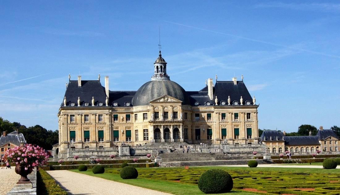 Castelo Vaux le Vicomte na França