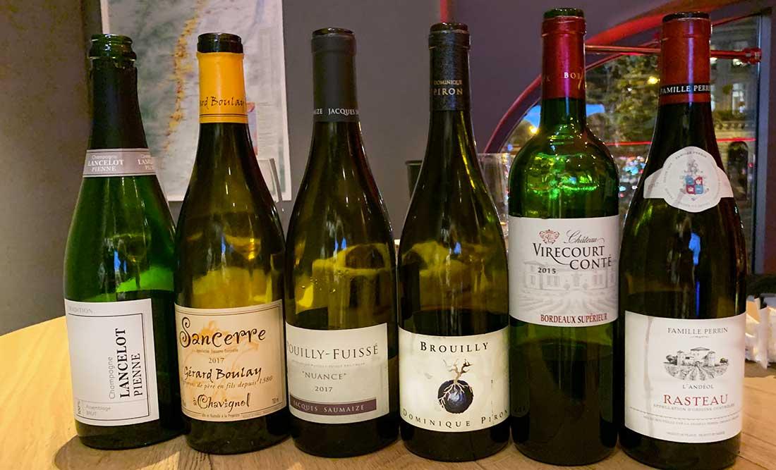 Galeria Lafayette, degustação de vinhos