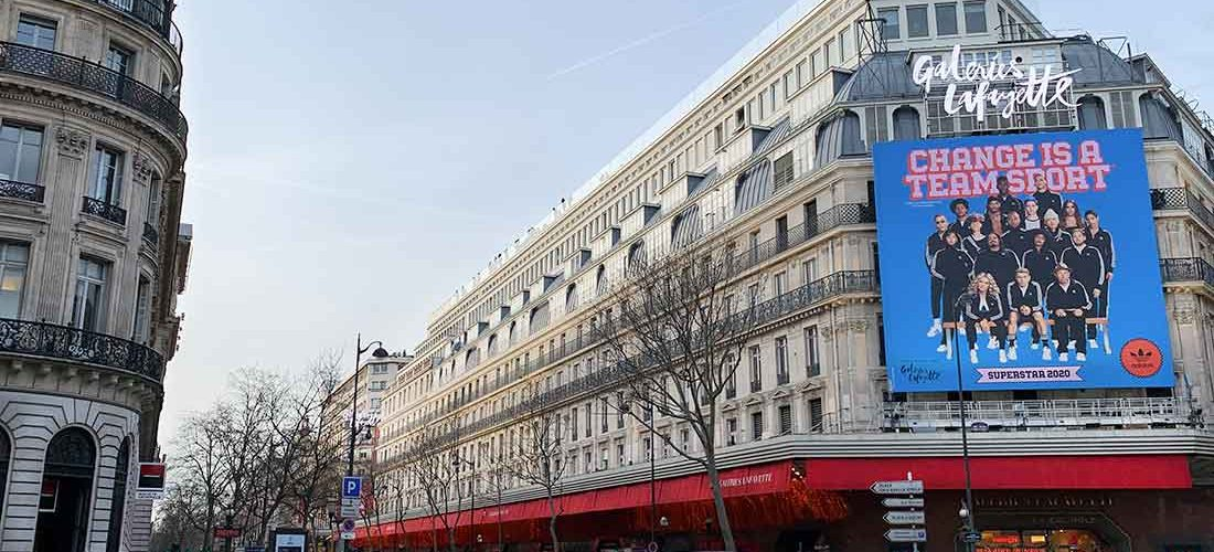 Galeria Lafayette o melhor endereço para compras em Paris
