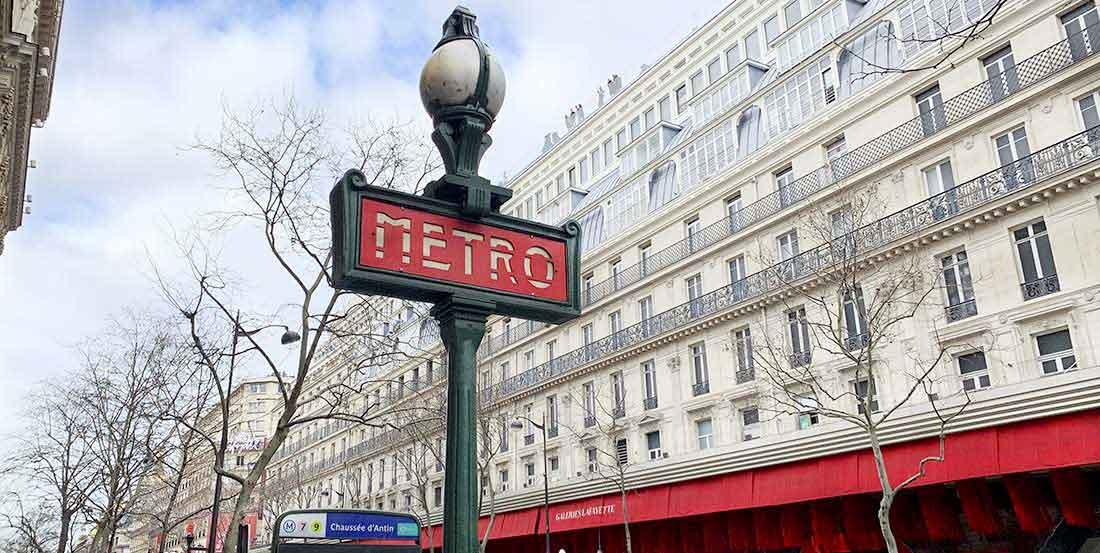 Galeria Lafayette, como chegar de metrô
