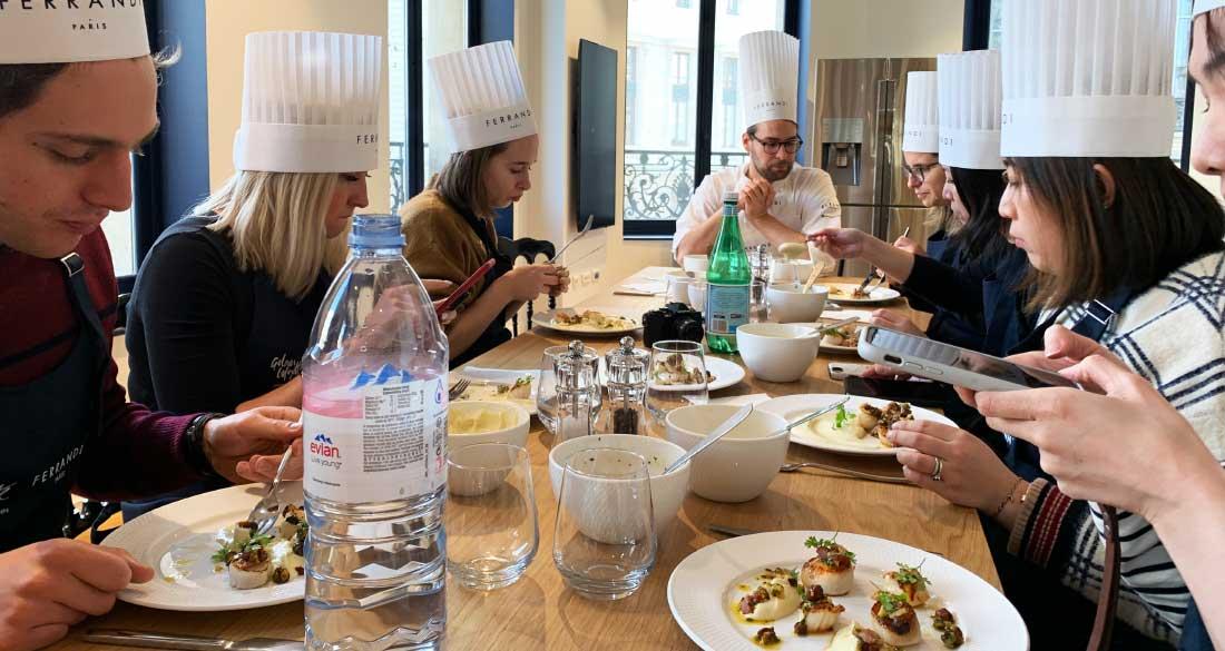 Curso de gastronomia na Lafayette Gourmet