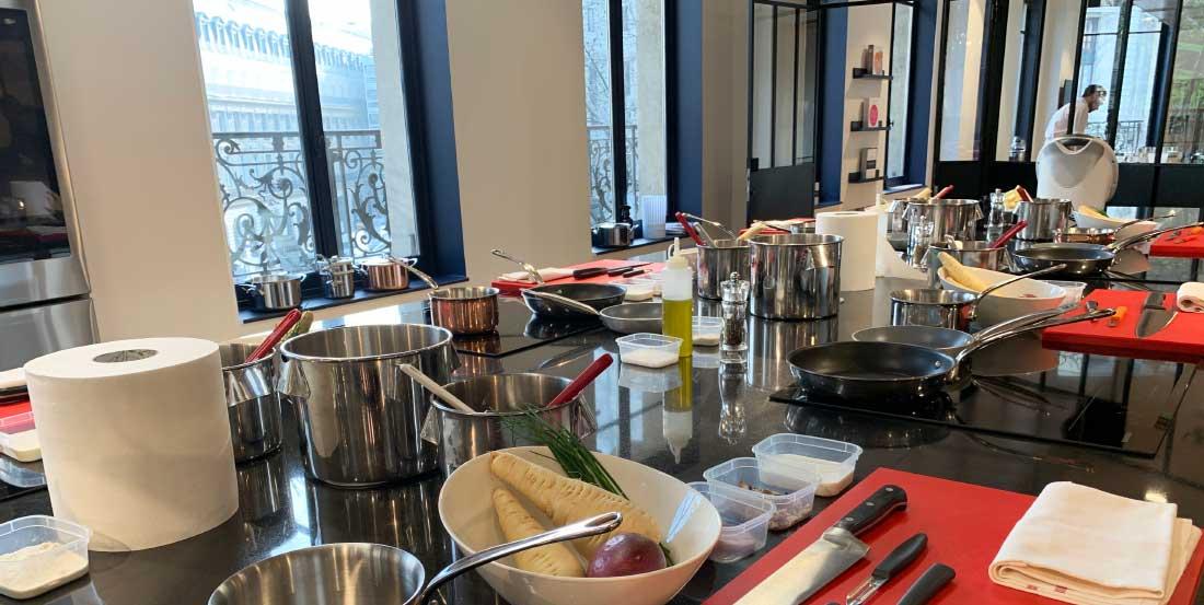Curso de Gastronomia em Paris
