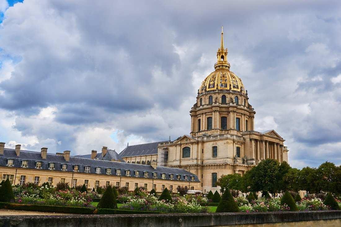 O Museu dos Inválidos, em Paris.