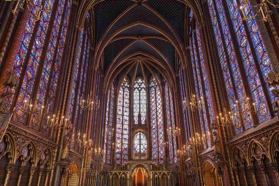 Pontos turísticos de Paris: Sainte-Chapelle