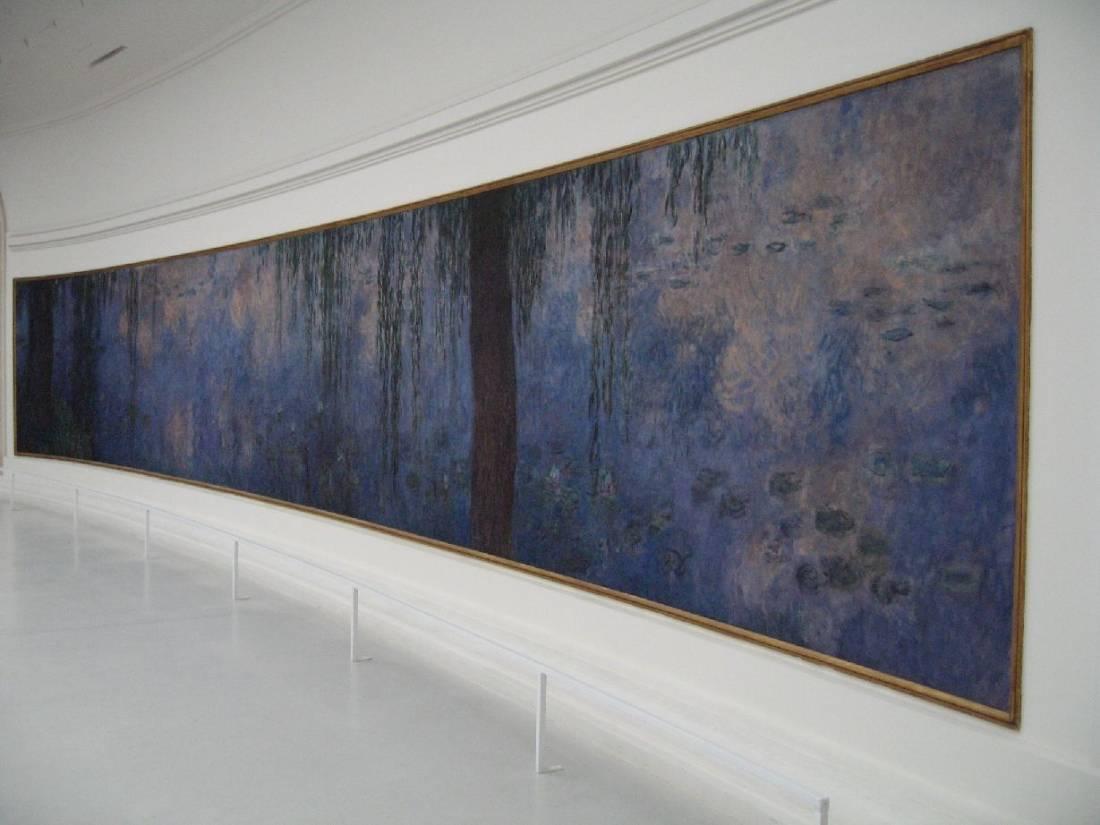 O Museu da Orangerie, em Paris